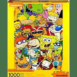 Nickelodeon cast | Puzzle Aquarius 1000 Piezas