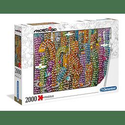 Mordillo La Selva de Concreto | Puzzle Clementoni 2000 Piezas