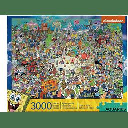 Bob Esponja | Puzzle Aquarius 3000 piezas