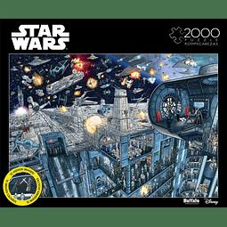 Star Wars Buscar en el interior: Estrella de la muerte | Puzzle Buffalo 2000 Piezas