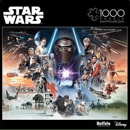 Star Wars If Skywalker Returns, The New Jedi Will Rise | Puzzle Buffalo 1000 Piezas