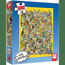 The Simpsons Cast of Mile   Puzzle TheOP Games 1000 Piezas