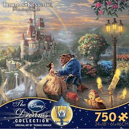 Disney La Bella y la bestia   Puzzle Ceaco 750 Piezas