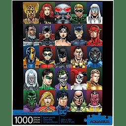 DC Comics Retro   Puzzle Aquarius 1000 Piezas