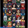 DC Comics Retro | Puzzle Aquarius 1000 Piezas