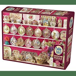 Grandma's Chintz | Puzzle Cobble Hill 2000 Piezas