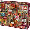 Vintage Art Supplies   Puzzle Cobble Hill 2000 Piezas