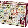 Butterflies And Blossoms | Puzzle Cobble Hill 2000 Piezas