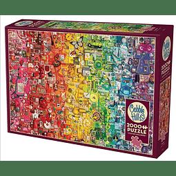 Rainbow | Puzzle Cobble Hill 2000 Piezas