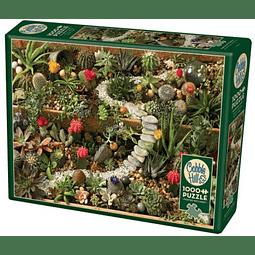 Succulent Garden | Puzzle Cobble Hill 1000 Piezas