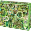 Green | Puzzle Cobble Hill 1000 Piezas