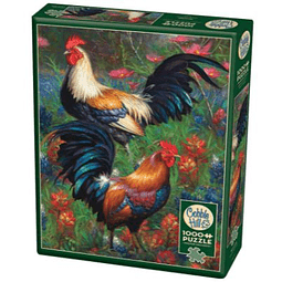 Roosters | Puzzle Cobble Hill 1000 Piezas
