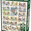 Bicycles | Puzzle Cobble Hill 1000 Piezas