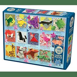 Origami Animals   Puzzle Cobble Hill 500 Piezas