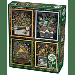 Floral Objects | Puzzle Cobble Hill 1000 Piezas