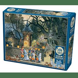 Halloween Buddies | Puzzle Cobble Hill 500 Piezas