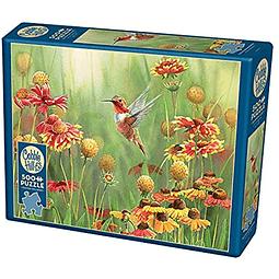 Rufous Hummingbird | Puzzle Cobble Hill 500 Piezas