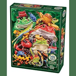 Frog Business | Puzzle Cobble Hill 1000 Piezas