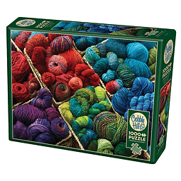 Plenty Of Yarn | Puzzle Cobble Hill 1000 Piezas