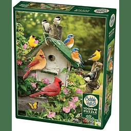 Summer Birdhouse | Puzzle Cobble Hill 1000 Piezas