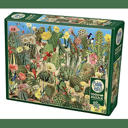 Cactus Garden | Puzzle Cobble Hill 1000 Piezas