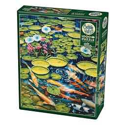 Koi Pond | Puzzle Cobble Hill 1000 Piezas
