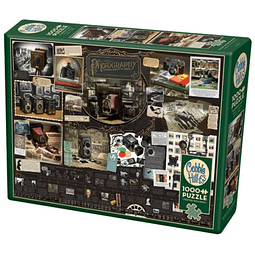 History Of Photography   Puzzle Cobble Hill 1000 Piezas