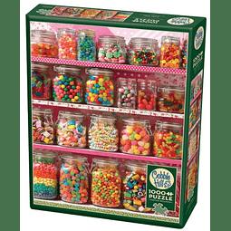Candy Shelf | Puzzle Cobble Hill 1000 Piezas