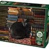 Library Cat   Puzzle Cobble Hill 1000 Piezas