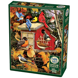 Fall Birds | Puzzle Cobble Hill 1000 Piezas