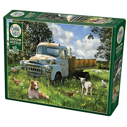 Sheep Field | Puzzle Cobble Hill 1000 Piezas