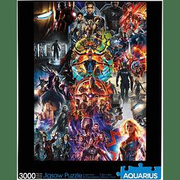 Marvel Avengers Collage | Puzzle 3000 Aquarius