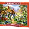 Cabaña en el Bosque   Puzzle Castorland 3000 Piezas