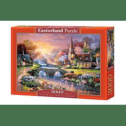 Reflexiones Pacíficas | Puzzle Castorland 3000 Piezas