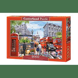 Primavera en Londres | Puzzle Castorland 2000 Piezas