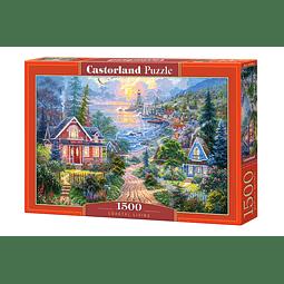 Vida Costera | Puzzle Castorland 1500 Piezas