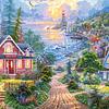 Vida Costera   Puzzle Castorland 1500 Piezas