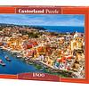 Puerto Corricella, Italia | Puzzle Castorland 1500 Piezas
