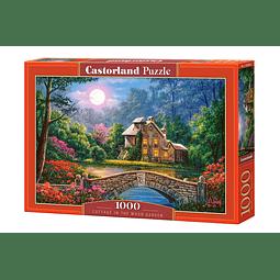 Cabaña en el Jardín de la Luna | Puzzle Castorland 1000 Piezas