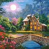 Cabaña en el Jardín de la Luna   Puzzle Castorland 1000 Piezas