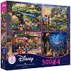 Disney Multipack (D) 4 en 1 | Puzzle Ceaco 4 x 500 Piezas