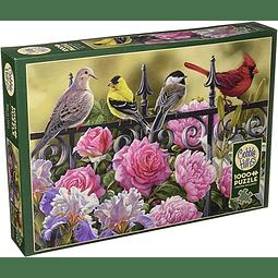Birds on a Fence | Puzzle Cobble Hill 1000 Piezas