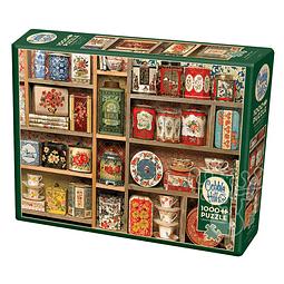 Vintage Tins | Puzzle Cobble Hill 1000 Piezas