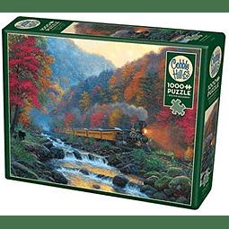 Smoky Train | Puzzle Cobble Hill 1000 Piezas