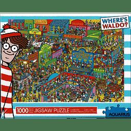 Donde esta Wally wild wild west   Puzzle Aquarius 1000 Piezas