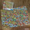 Donde esta Wally Jurassic | Puzzle Aquarius 1000 Piezas