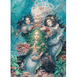 Daughters of the Sea | Puzzle Art & Fable 750 Piezas