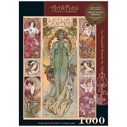 La Nouvelle Femme | Puzzle Art & Fable 1000 Piezas