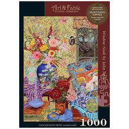 Window Nook | Puzzle Art & Fable 1000 Piezas