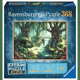 El bosque mágico | Escape Puzzle Kids Ravensburger 368 Piezas
